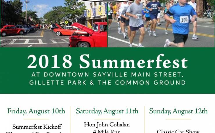 Sayville Summerfest 2018